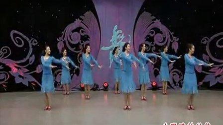 杨艺全民广场舞 小眼睛的姑娘 背身