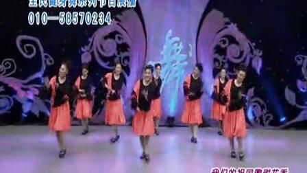杨艺全民广场舞 我的祖国歌甜花香