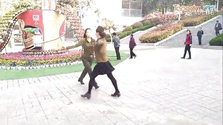 洛阳舞动王城广场水兵舞第四套《红山果》田秦组合