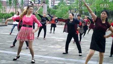 无忧湿地公园广场舞《火辣辣的情歌》