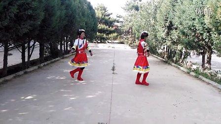 甘肃省民勤县双茨科乡红中四社广场舞 一曲红尘