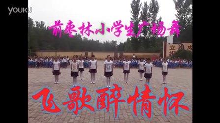 前枣林小学生广场舞《飞歌醉情怀》