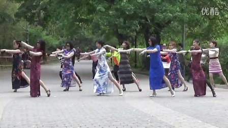 紫竹院相约紫竹广场舞、为你等待