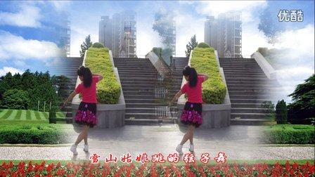董凤姐广场舞 美丽的雪山姑娘