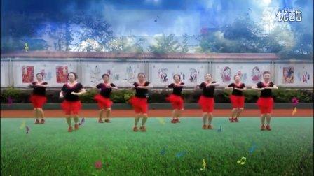 达州红缨广场舞《我的祖国》步子舞