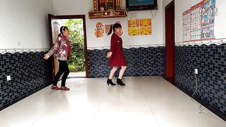 朱良桥广场舞北京的金山上