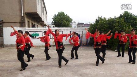 肖圩社区广场舞《山里红》