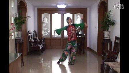 江苏泰州市張德珍广场舞、今天是你的生日我的祖国、编舞応子