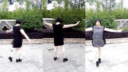 莲芳姐广场舞、北京的金山上