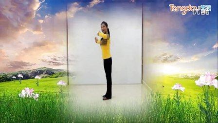 馨梅广场舞《跳春光》附教学版、 制作:泉水叮咚