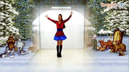 馨梅广场舞《圣诞狂欢曲》附教学版、制作:泉水叮咚