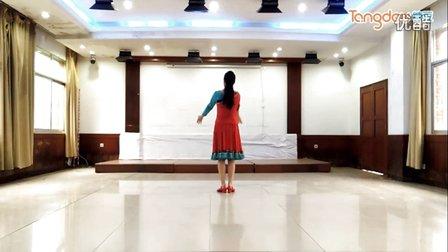 馨梅广场舞《阿拉家园》附教学版、制作:泉水叮咚
