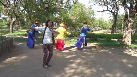广场舞《红尘情歌》清朝古装搞笑伴舞