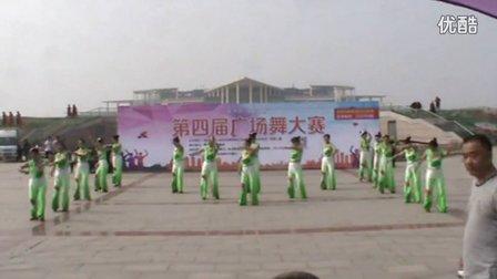 滨州市第四届广场舞大赛9号老年大学腰鼓学会舞蹈队《蝴蝶泉边》