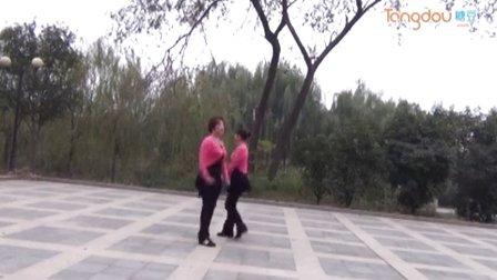 双人对跳广场舞 兰花草