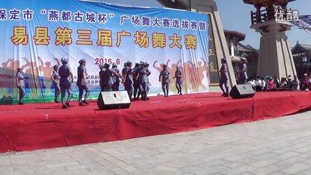 易县第三届广场舞大赛东关新村一等奖《红歌串烧》