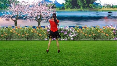蓝天云广场舞  不是钱的事有钱就没事 正反面附教学