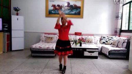 花儿朵朵金圪塔广场舞《新走西口》