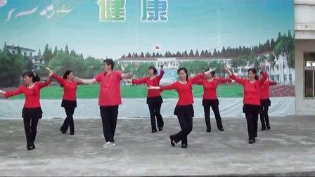 江汉兄弟广场舞队 山里红