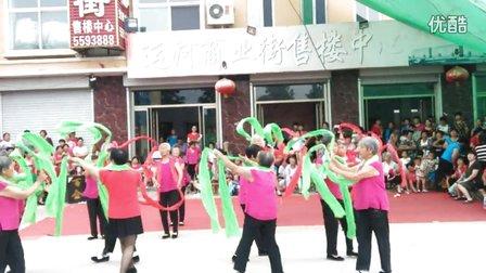 武城县老城镇轻舞飞扬 沙庄队《欢聚一堂》广场舞