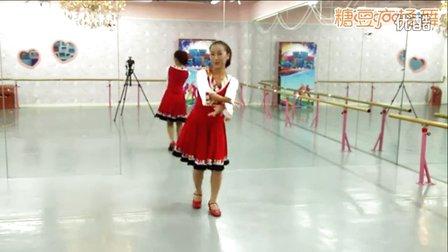 太湖彬彬广场舞《再唱山歌给党听》红歌跳起来 藏族舞附分解