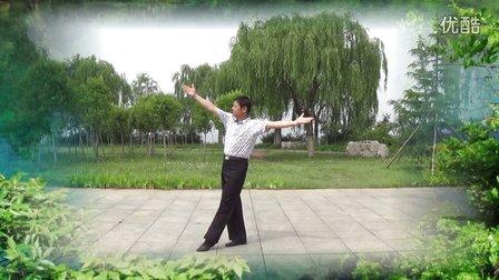 金太阳广场舞《泉水叮咚响》正反面演示