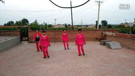 务欢池镇八家子村广场舞 烟花三月下扬州