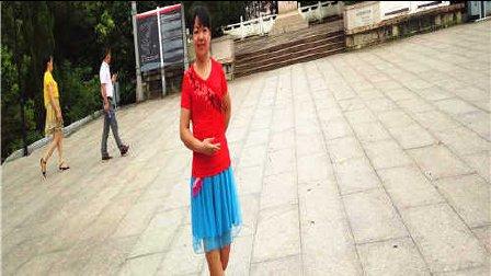 金盛小莉广场舞 烟花三月下扬州 附分解
