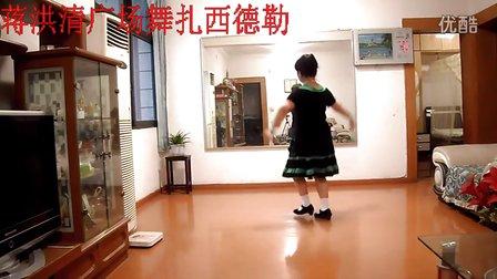 南江邮政局退休职工蒋洪清广场舞《扎西德勒》