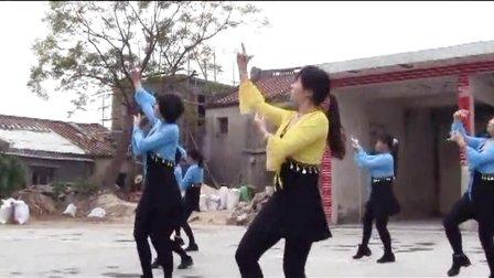 饶平县所城镇广场舞《北京的金山上》
