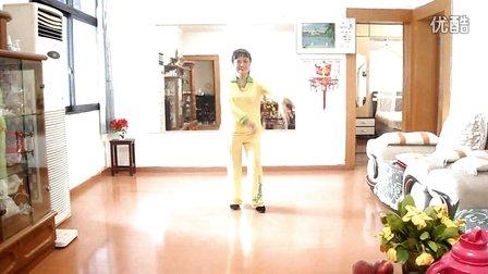 南江邮政局退休职工蒋洪清广场舞《粉红色的回忆》