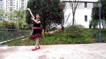 月舞影广场舞 学跳 零度桑巴
