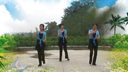 哈哈镜广场舞 我的玫瑰卓玛拉