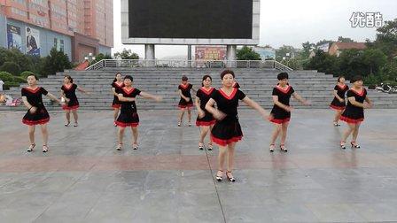 确山县靖宇广场舞月天舞蹈队 最炫民族风