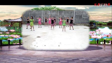 凤舞广场舞《谁是我的郎》演示;凤舞团队,改编制作;凤舞
