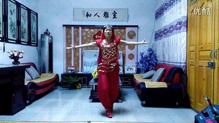 中滩小红广场舞《零度桑巴》