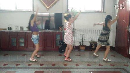 刘家堡广场舞《快乐给力》