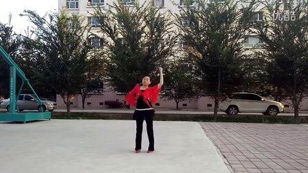 冯七妹广场舞《又见山里红》