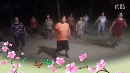 莱西市河头店镇松旺庄村松美广场舞 粉红色的回忆