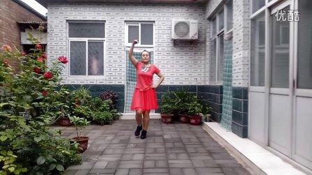 玫瑰舞起来广场舞 为你等待
