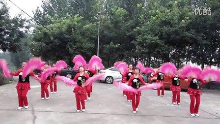 柏沟广场舞《开门红》