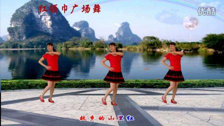 红领巾广场舞 又见山里红 编舞:芳儿