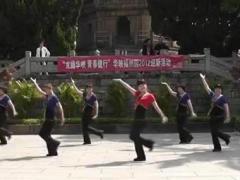 动动广场舞《山里红》含背面示范