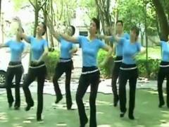 高安子君广场舞 《北京的金山上》