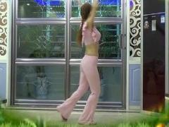 阿梅广场舞草原一枝花附背面演示