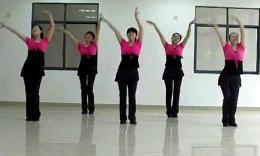 长沙中信舞蹈队广场舞《爱情神马价》附背面口令教学视频
