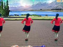 益馨原创广场舞 《暧暧的幸福》 演唱:王馨 恰恰 附正反教学