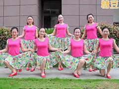 杨丽萍广场舞《一曲相思》恰恰风格 含背面分解教学