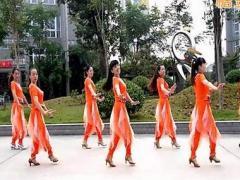 乔茜广场舞 《前面那个姑娘》32步恰恰 含背面分解教学