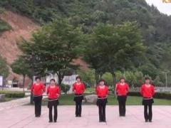 遂昌牡丹亭广场舞 《山里红》